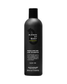 Alfaparf Blends of Many Rebalancing Low Shampoo – peanahka tasakaalustav šampoon, 250 ml
