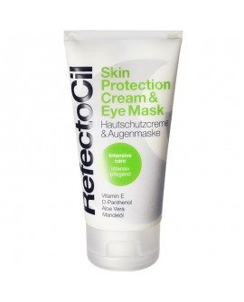 RefectoCil Skin protection créme & Eye Mask – nahakaitsekreem ja silmaümbruse mask, 75ml