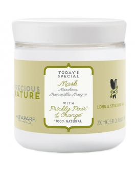 Alfaparf Precious Nature Long/Straight Hair Mask - mask pikkadele ja sirgetele juustele 200ml