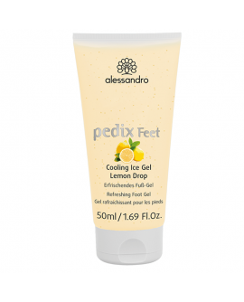 alessandro Pedix Feet Cooling Ice Gel Lemon Drop - Jahutav ja hooldav jalageel 50ml
