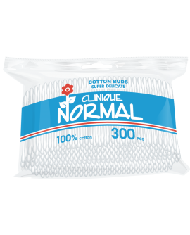 Normal Clinique Q-tips - vatitikud. kilepakendis 300tk