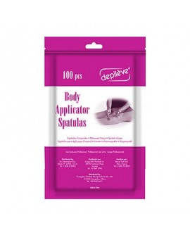 Wooden Body Applicators - puidust kehaspaatlid 100tk
